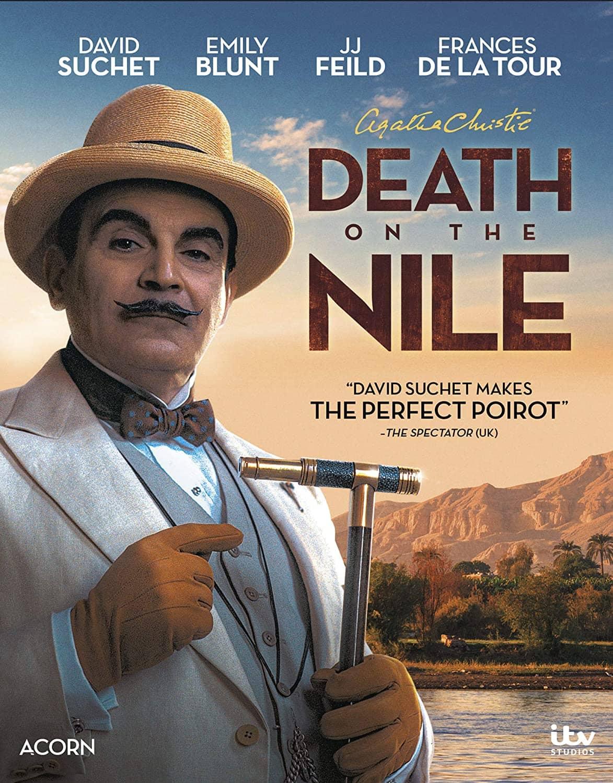 AGATHA CHRISTIES DEATH ON THE NILE Bluray DVD