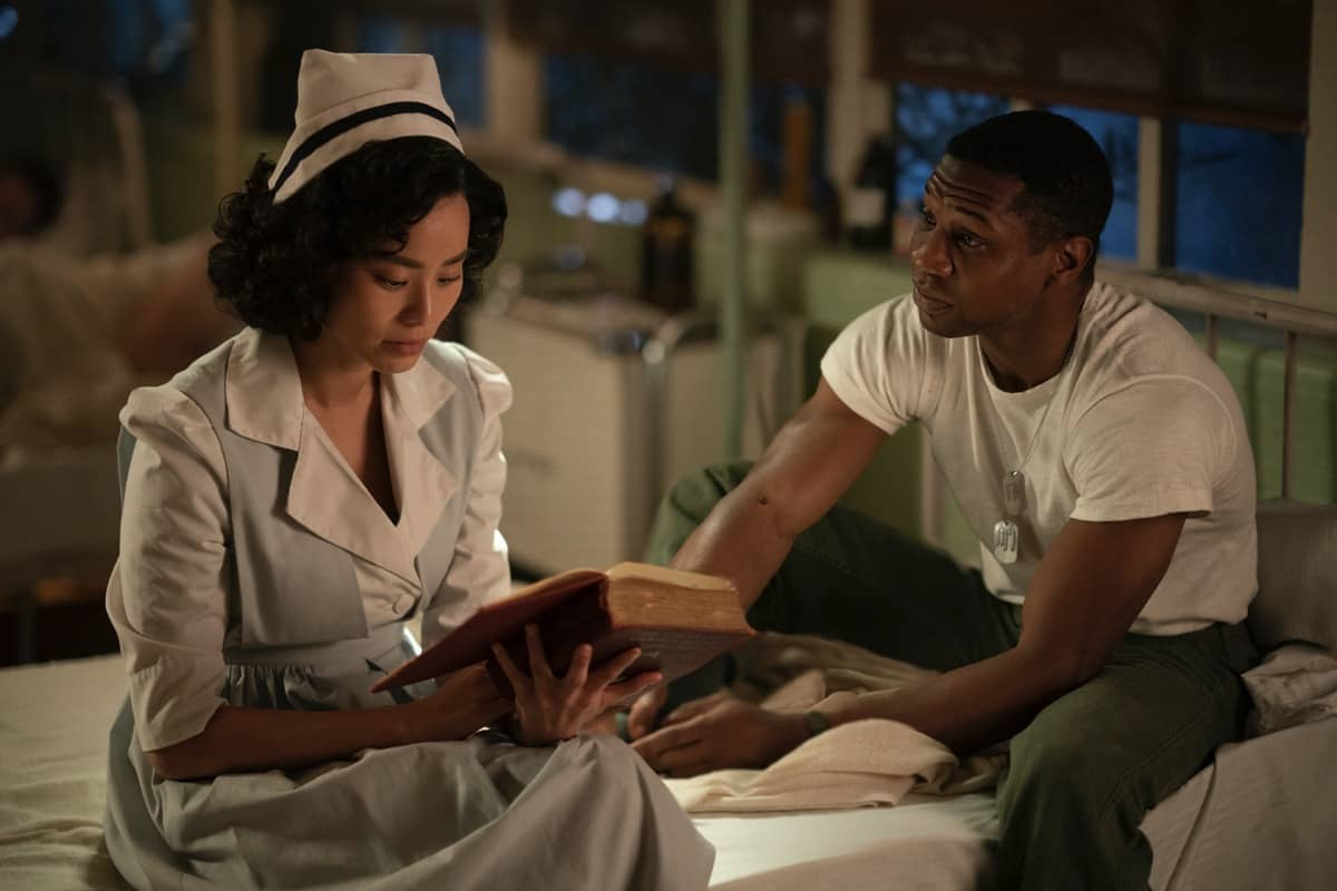 Jamie Chung, Jonathan Majors Lovecraft Country Season 1 - Episode 6 Photograph by Eli Joshua Ade/HBO