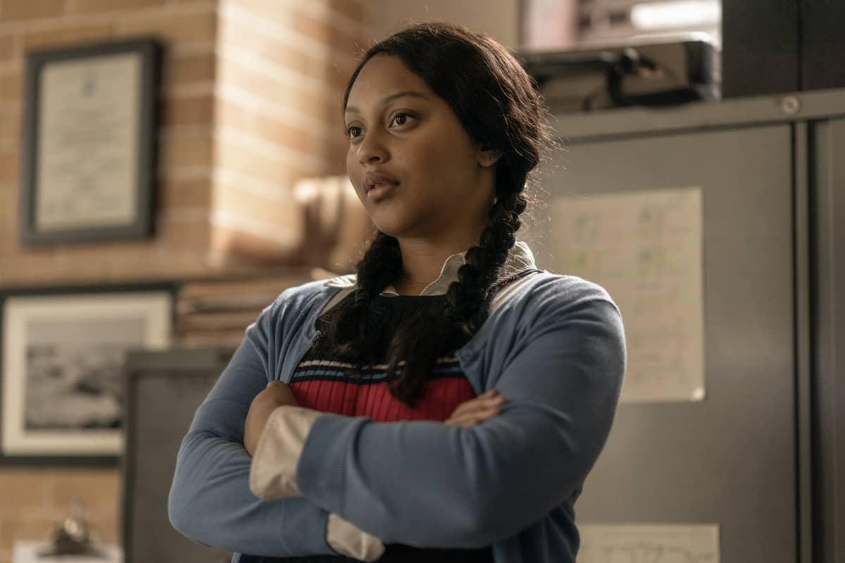 Aliyah Royale as Iris - The Walking Dead: World Beyond _ Season 1, Episode 1 - Photo Credit: Zach Dilgard/AMC