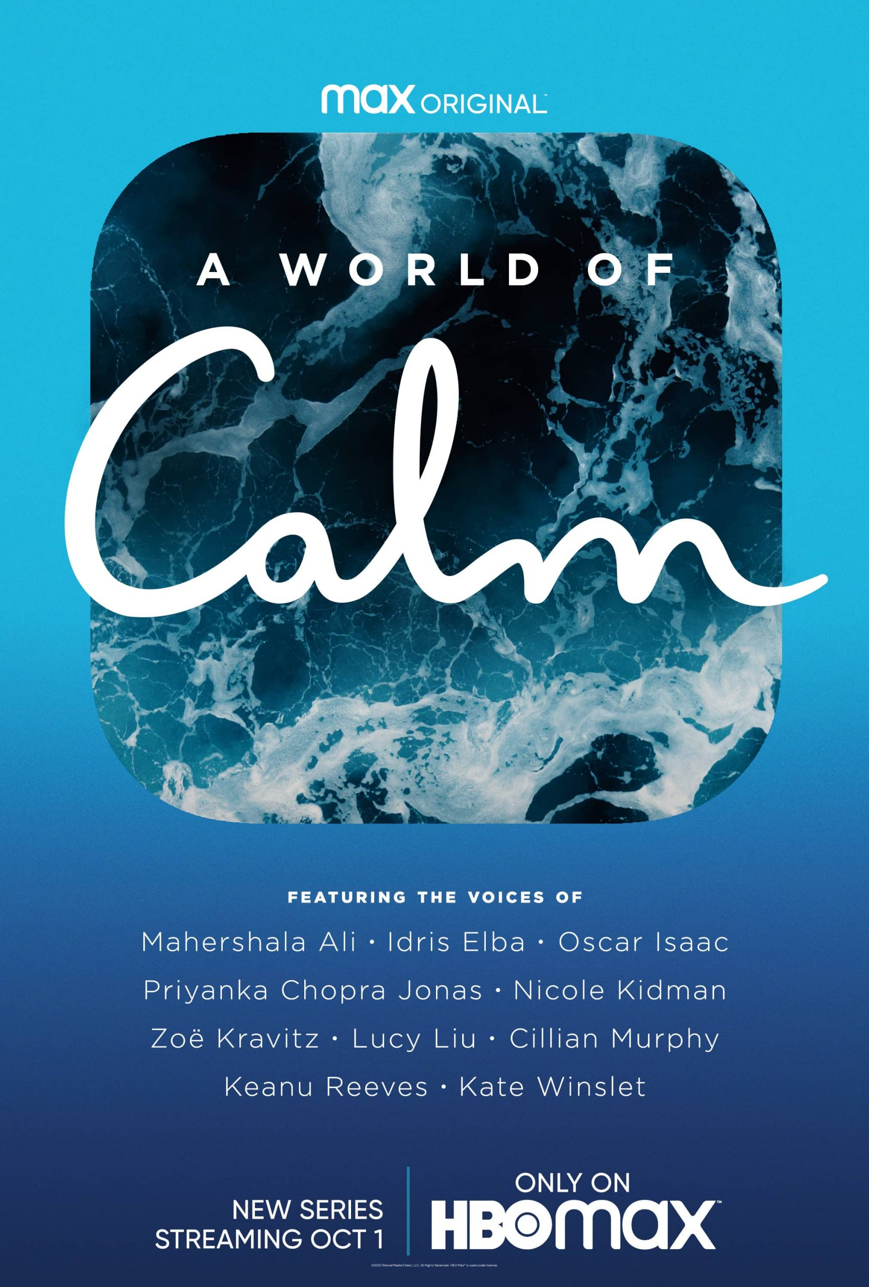 A WORLD OF CALM HBO Max Poster Key Art scaled