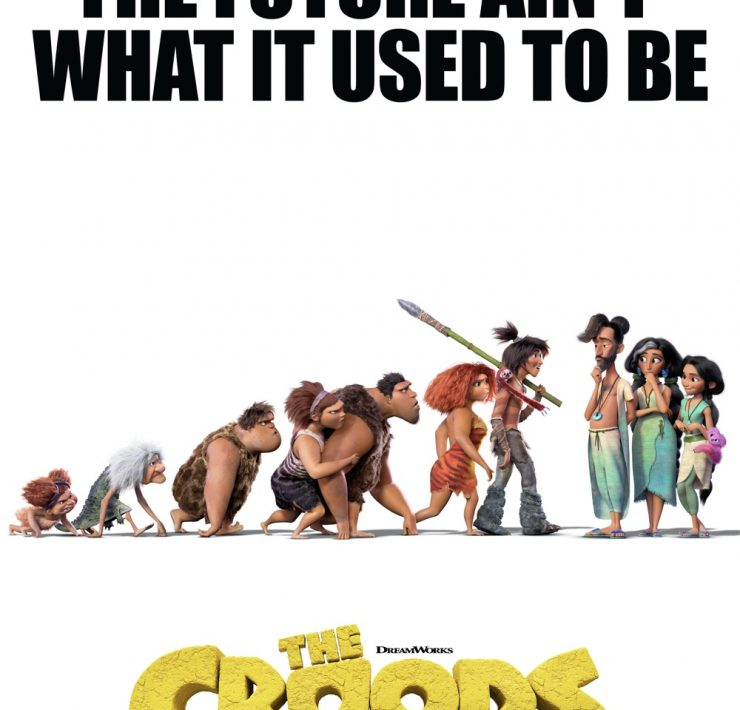 The Croods New Age Movie Poster One Sheet