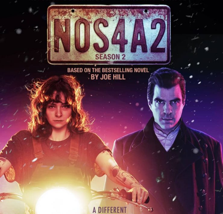 NOS4A2 Season 2 Blu-ray Cover