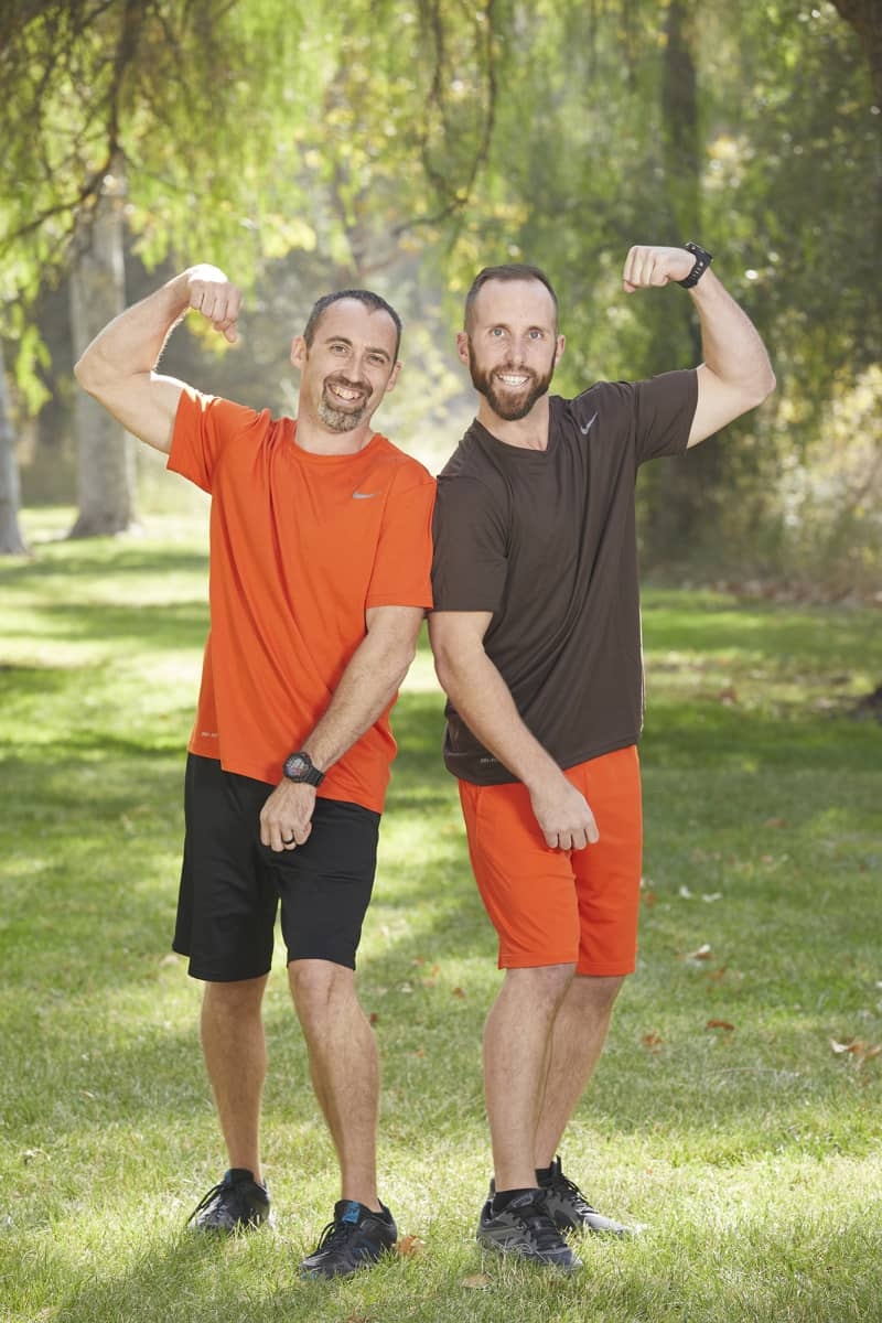 Best friends from Dayton, Tenn. and Paint Lick, Ky. Cody Buell (L) and Nathan Worthington (R), compete on the 32nd season of THE AMAZING RACE which will premiere on Wednesday, October 14 (9:00-10:00 PM, ET/PT). Photo: Sonja Flemming/CBS ©2018 CBS Broadcasting, Inc. All Rights Reserved