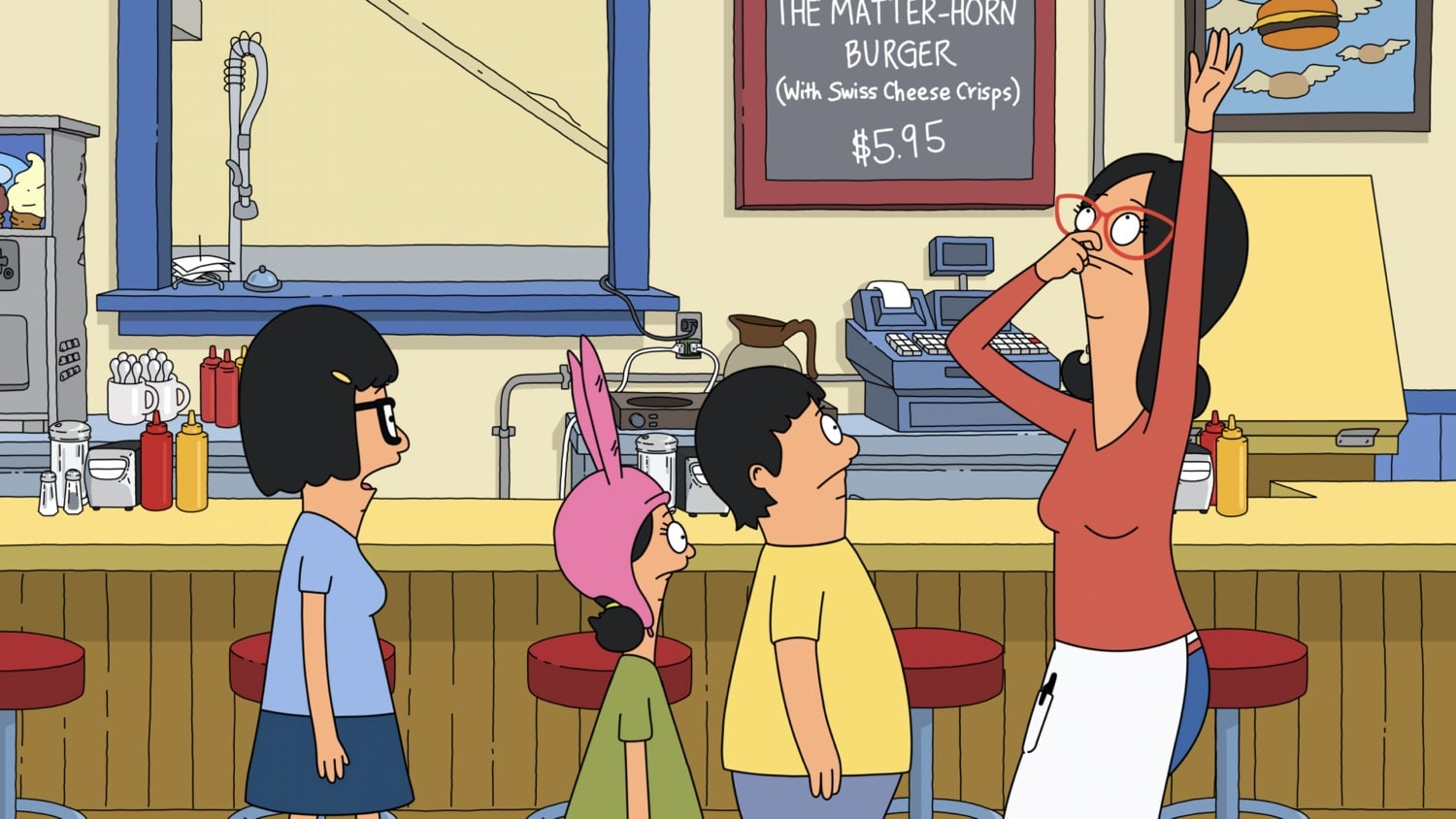 "BOB'S BURGERS: Tina attempts to learn a hand-slapping song that everyone can do – but her – in the ""Dream A Little Bob of Bob"" season premiere episode of BOB'S BURGERS airing Sunday, Sept. 27 (9:00-9:30 PM ET/PT) on FOX. BOB'S BURGERS © 2020 by Twentieth Century Fox Film Corporation."