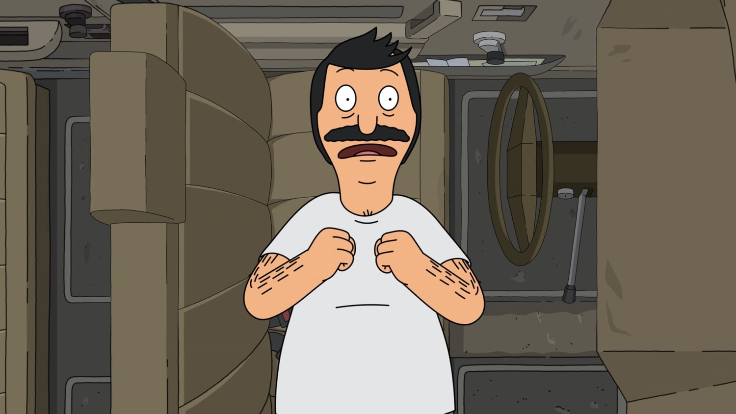 "BOB'S BURGERS: Bob goes on an epic quest to find a misplaced lock box key in the ""Dream A Little Bob of Bob"" season premiere episode of BOB'S BURGERS airing Sunday, Sept. 27 (9:00-9:30 PM ET/PT) on FOX. BOB'S BURGERS © 2020 by Twentieth Century Fox Film Corporation."