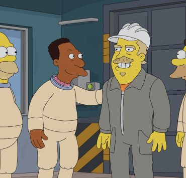 "THE SIMPSONS: Mr. Burns goes undercover as ""Fred"" at the nuclear power plant and becomes friends with Homer and the gang. Burns implements all sorts of amenities to improve his employees' lives, but a jealous Smithers plots to bring the old, bitter Burns back and destroy Fred in the ""Undercover Burns"" season premiere episode of THE SIMPSONS airing Sunday, Sept. 27 (8:00-8:31 PM ET/PT) on FOX. Guest voice David Harbour. THE SIMPSONS © 2020 by Twentieth Century Fox Film Corporation."