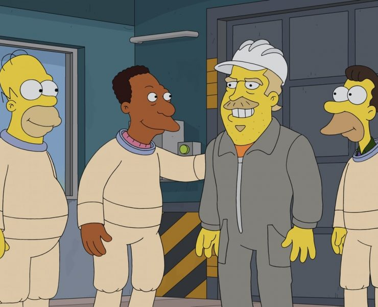"""THE SIMPSONS: Mr. Burns goes undercover as """"Fred"""" at the nuclear power plant and becomes friends with Homer and the gang. Burns implements all sorts of amenities to improve his employees' lives, but a jealous Smithers plots to bring the old, bitter Burns back and destroy Fred in the """"Undercover Burns"""" season premiere episode of THE SIMPSONS airing Sunday, Sept. 27 (8:00-8:31 PM ET/PT) on FOX. Guest voice David Harbour. THE SIMPSONS © 2020 by Twentieth Century Fox Film Corporation."""