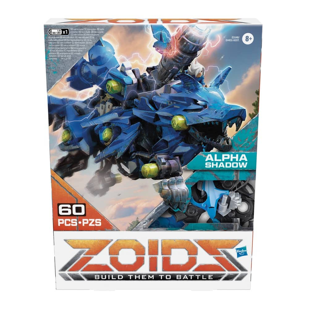 Zoids Alpha Shadow Packaging