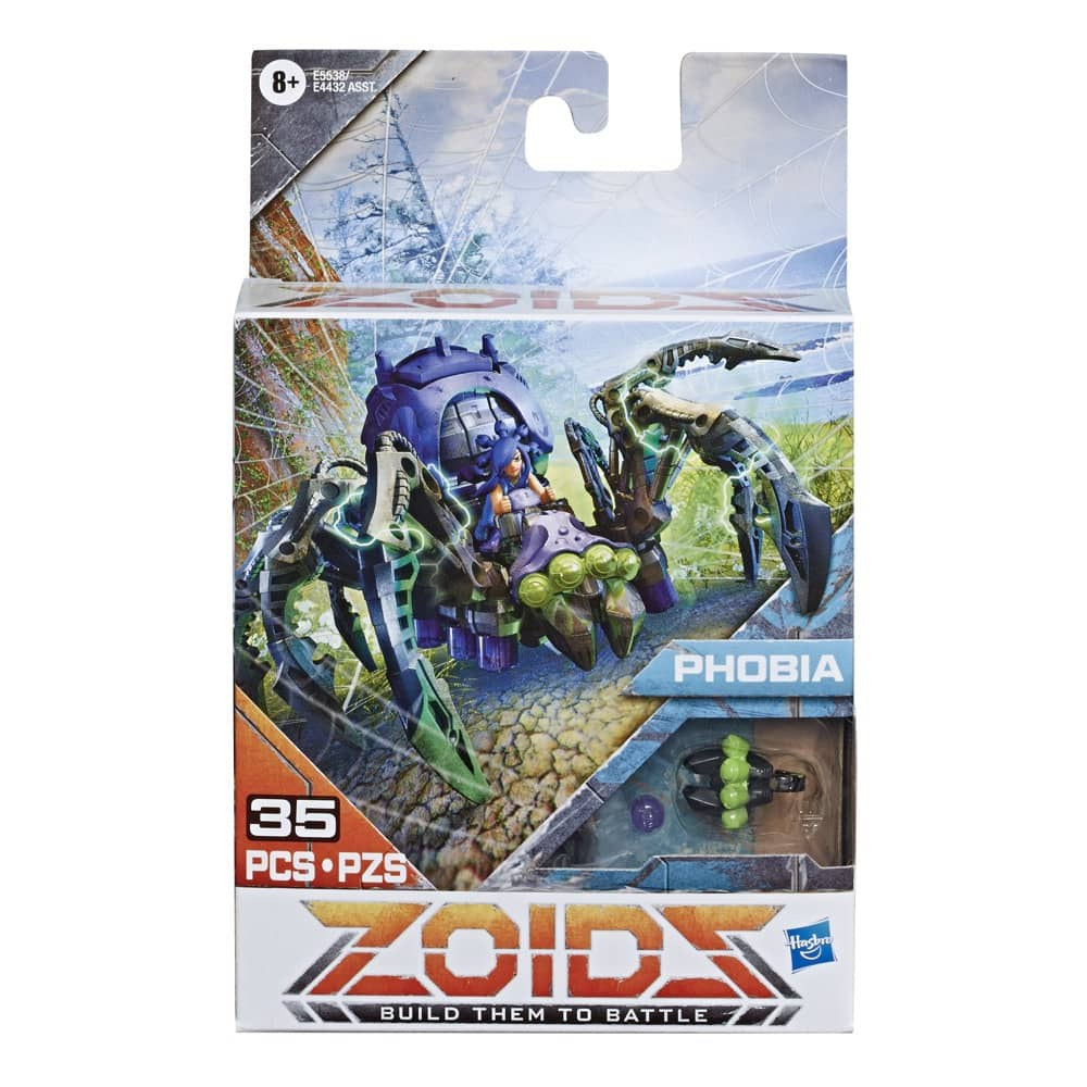 Zoids Phobia Packaging