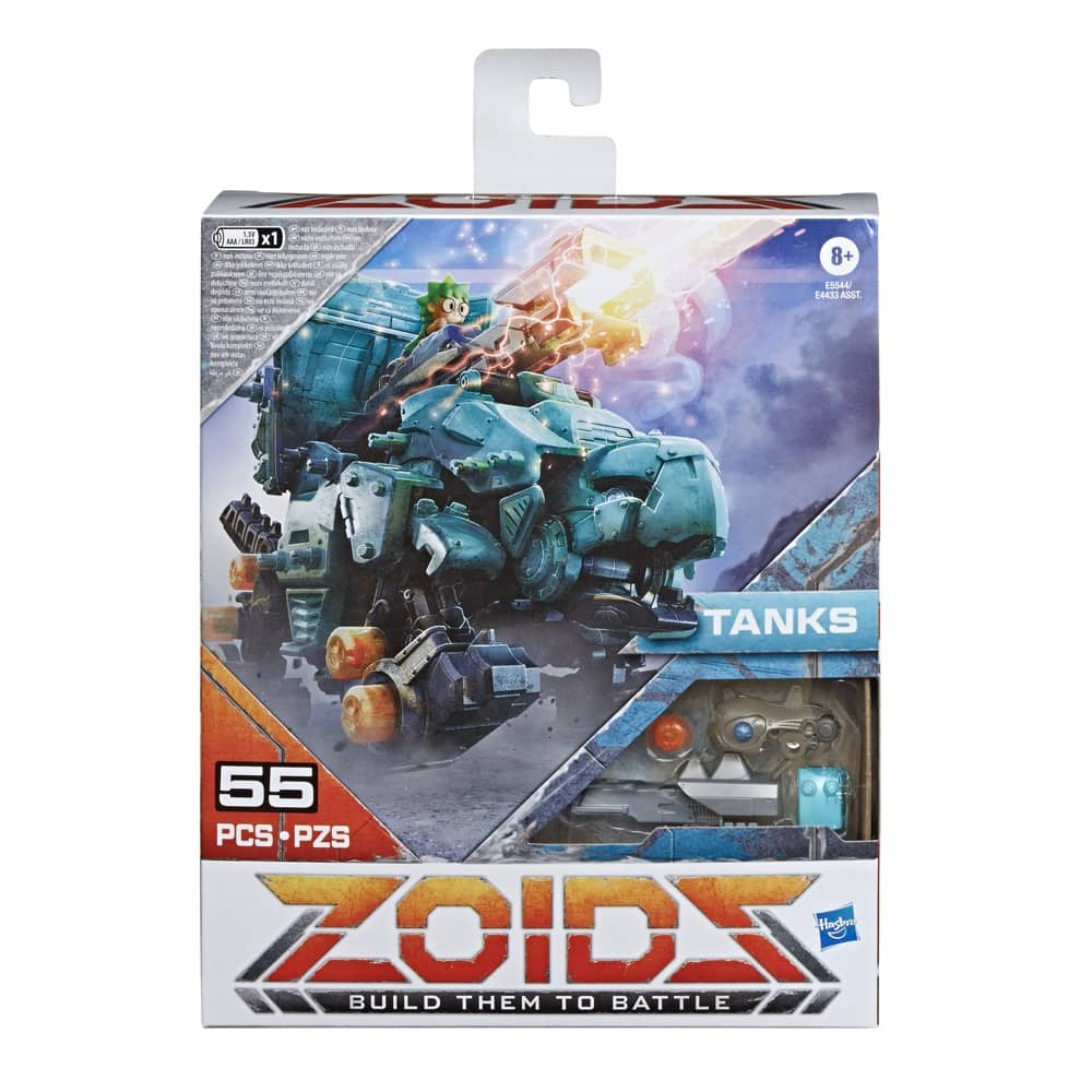 Zoids Tanks Packaging