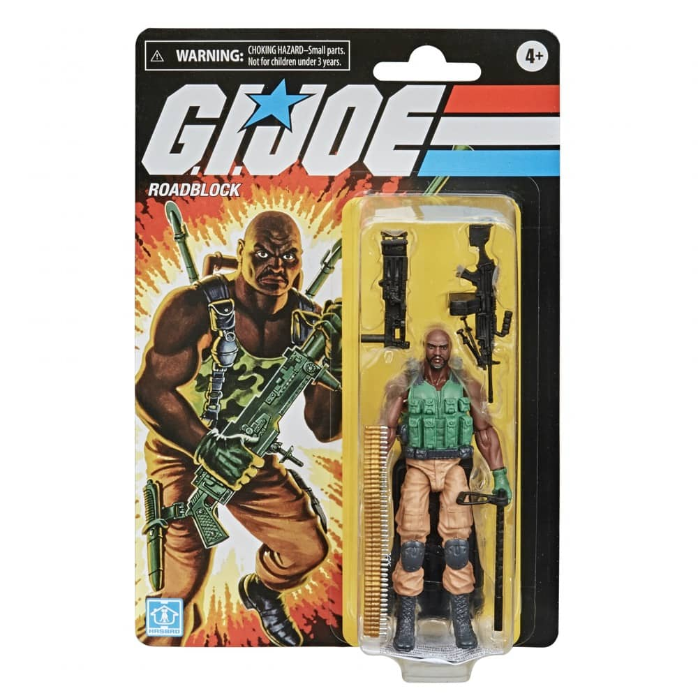 G.I. Joe Roadblock Action Figure Packaging