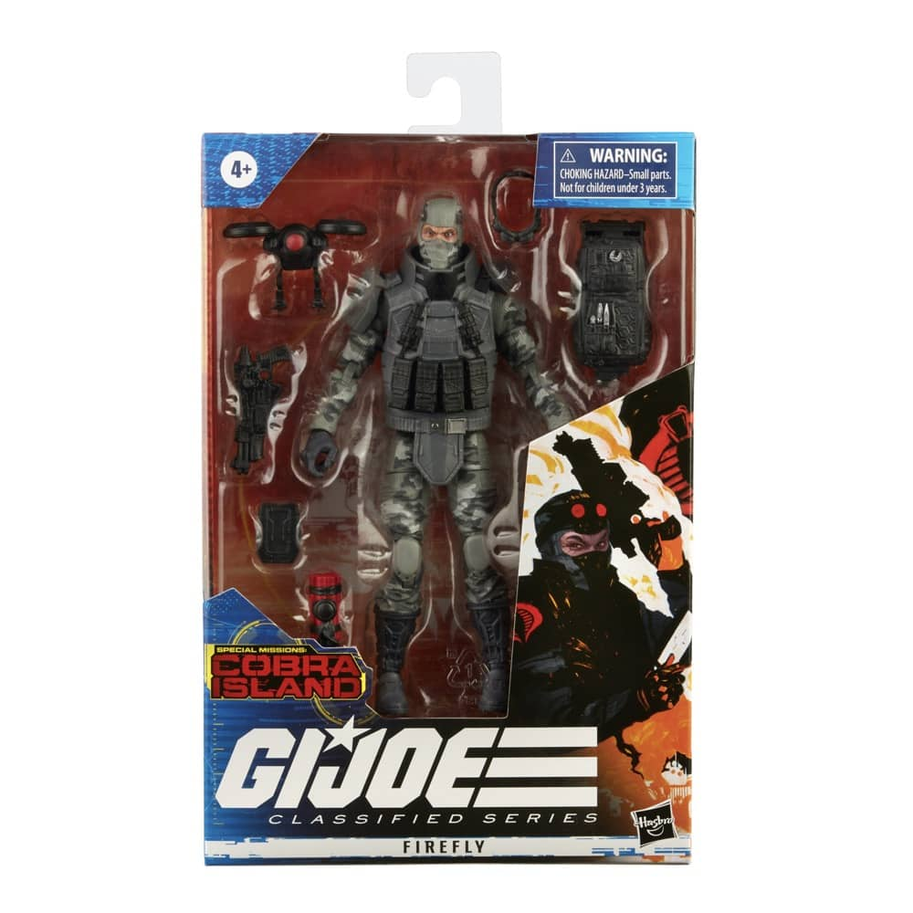 G.I. Joe Firefly Action Figure Packaging