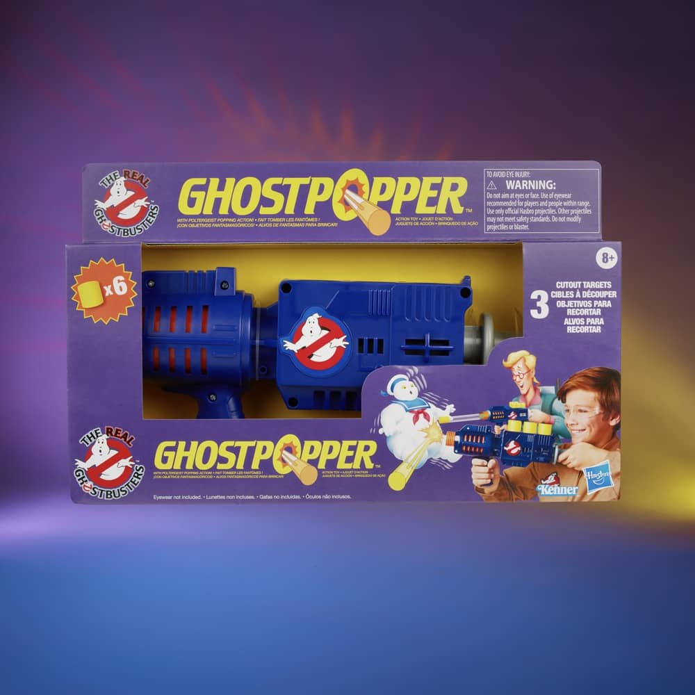 Ghostbusters Hasbro Ghostpopper Packaging Box