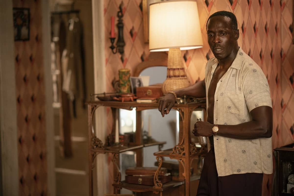 Michael K. Williams HBO Lovecraft Country Season 1 - Episode 7 Photograph by Eli Joshua Ade/HBO