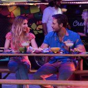 HOLIDATE (2020) L to R: Emma Roberts as Sloane Reed & Luke Bracey as Jackson Pieretti. Cr. Steve Dietl / Netflix