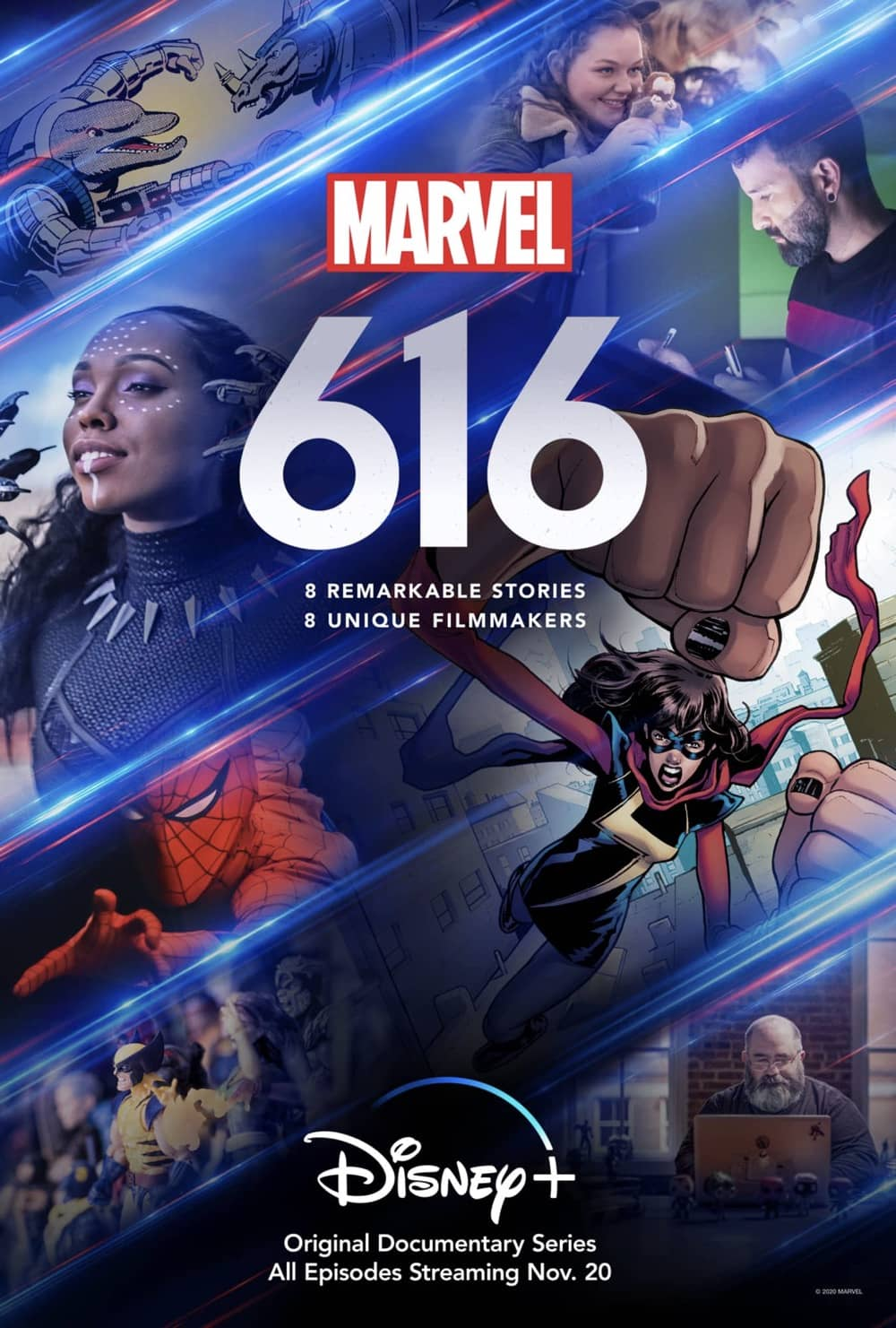 Marvel 616 Poster Key Art