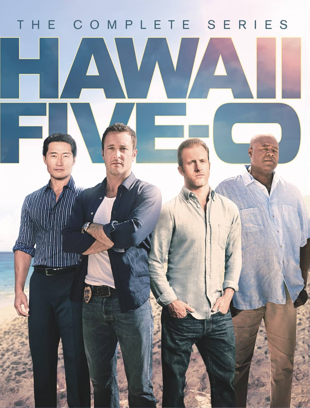 HAWAII FIVE-0 Complete Series DVD Cover