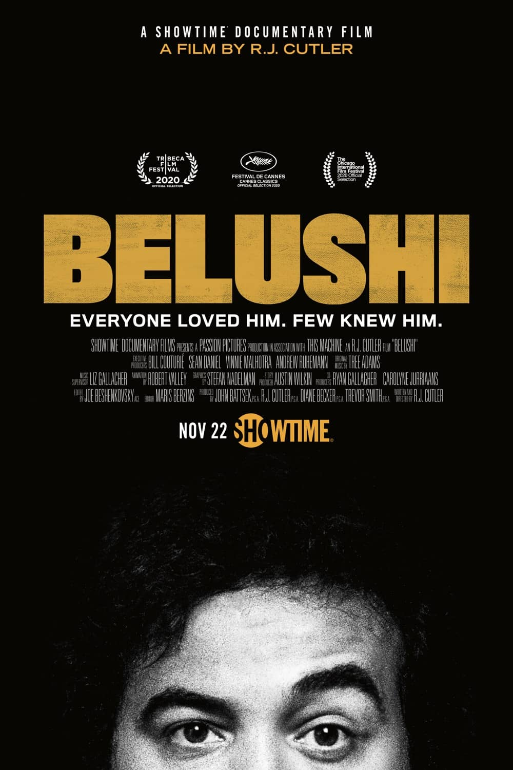 Belushi Showtime Poster Key Art