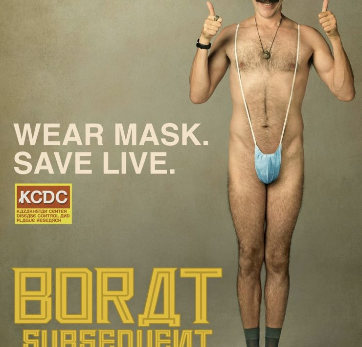 Borat Subsequent Moviefilm Movie Poster Sacha Baron Cohen