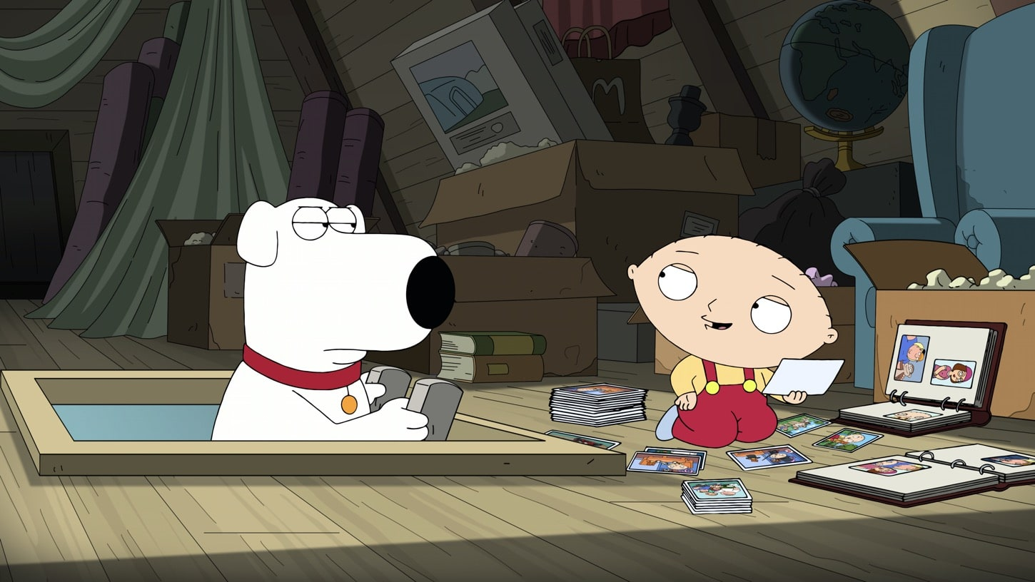 """FAMILY GUY: Stewie """"breaks up with"""" Rupert after learning that he used to belong to Chris. Unable to get over his feelings of betrayal, Stewie decides to take action in the """"The Talented Mr. Stewie"""" episode of FAMILY GUY airing Sunday, Oct. 4 (9:30-10:00 PM ET/PT) on FOX. FAMILY GUY © 2020 by Twentieth Century Fox Film Corporation."""