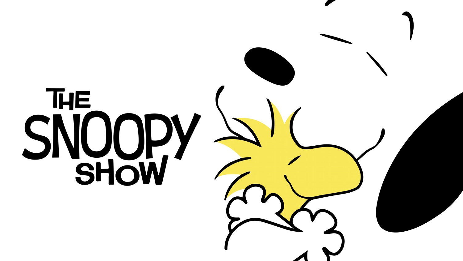 The Snoopy Show Apple TV+ Logo