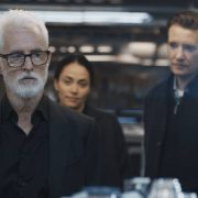 "NEXT: L-R: John Slattery, Fernanda Andrade and Jason Butler Harner in the ""File #1"" season premiere episode of NEXT airing Tuesday, Oct. 6 (9:00-10:00 PM ET/PT) on FOX. © 2020 FOX MEDIA LLC. Cr: Ed Araquel/FOX. Cr: FOX."