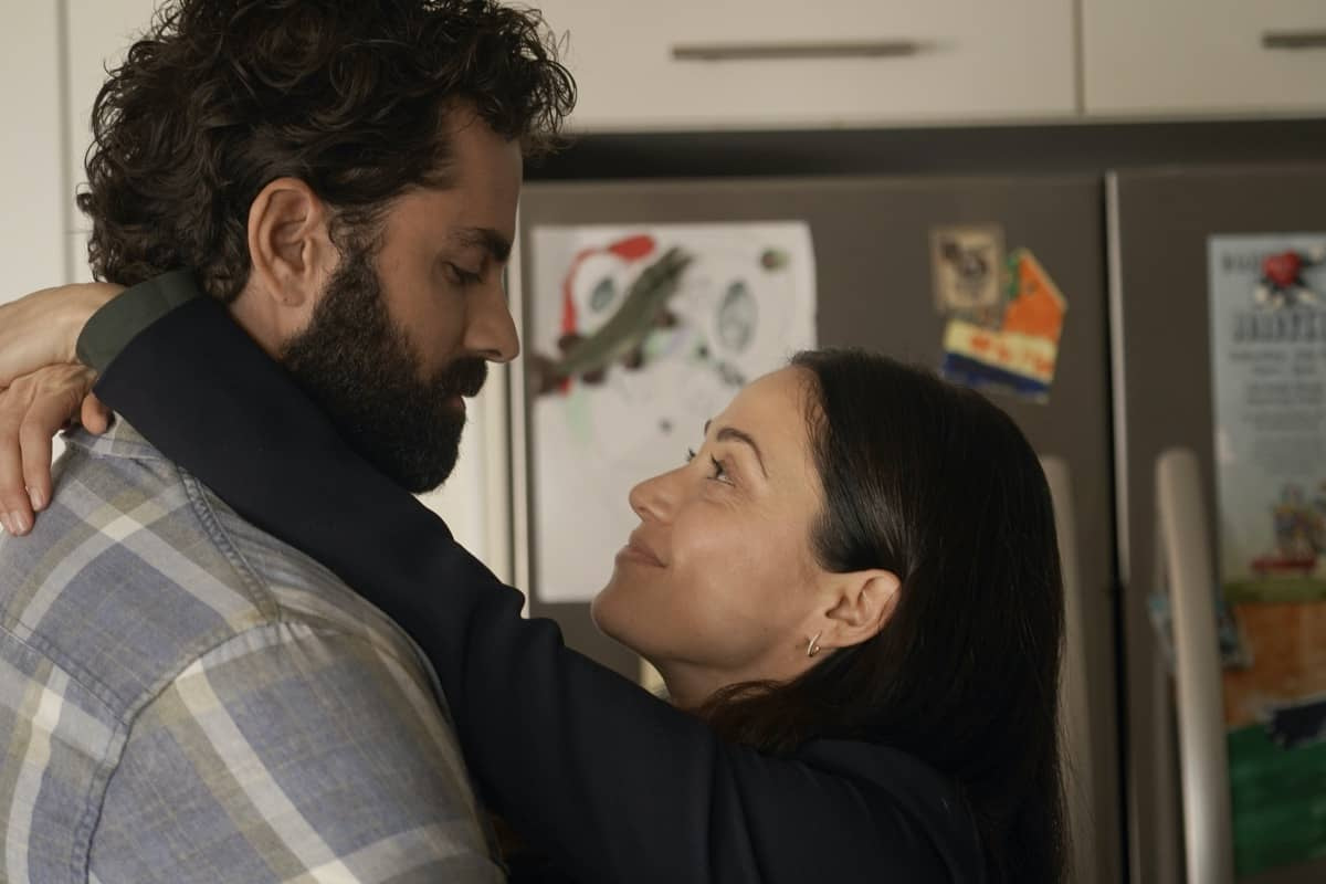 "NEXT: L-R: Gerardo Celasco and Fernanda Andrade in the ""File #1"" season premiere episode of NEXT airing Tuesday, Oct. 6 (9:00-10:00 PM ET/PT) on FOX. © 2020 FOX MEDIA LLC. Cr: Shane Harveyl/FOX."