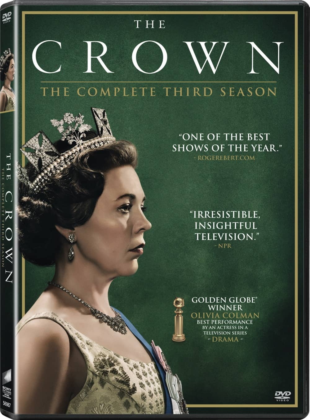 The Crown Season 3 DVD