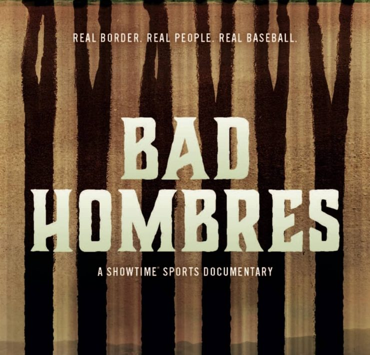 Bad Hombres Poster Key Art Showtime