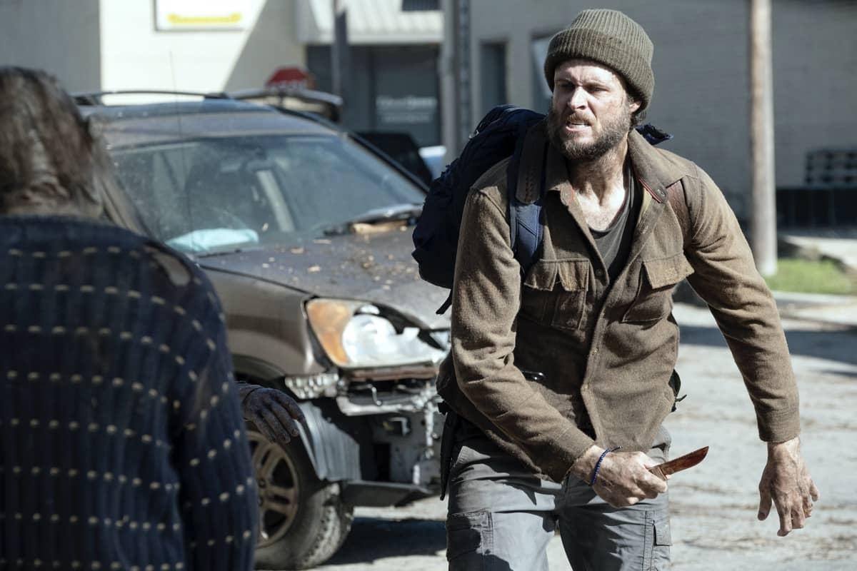 Michael Abbott Jr as Isaac- Fear the Walking Dead _ Season 6, Episode 1 - Photo Credit: Ryan Green/AMC