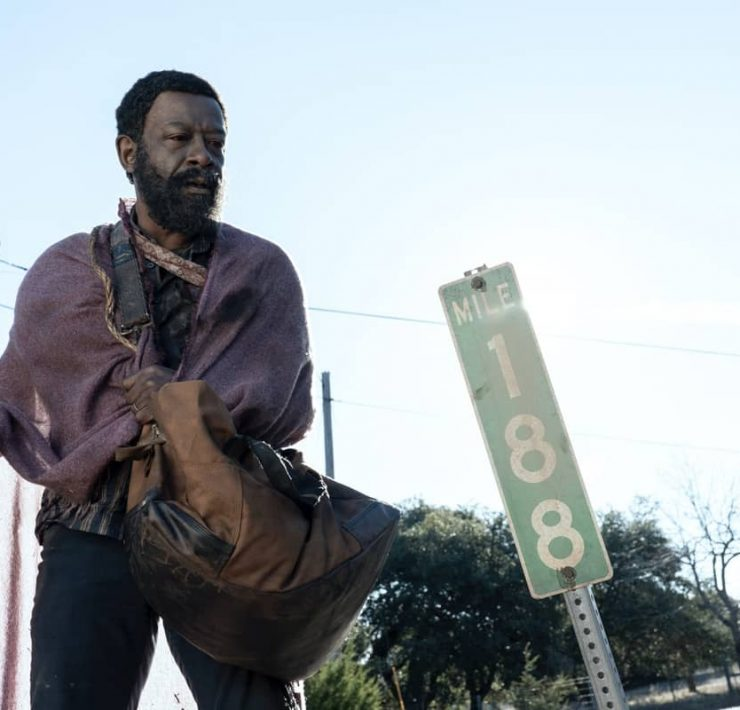 Lennie James as Morgan Jones - Fear the Walking Dead _ Season 6, Episode 1 - Photo Credit: Ryan Green/AMC