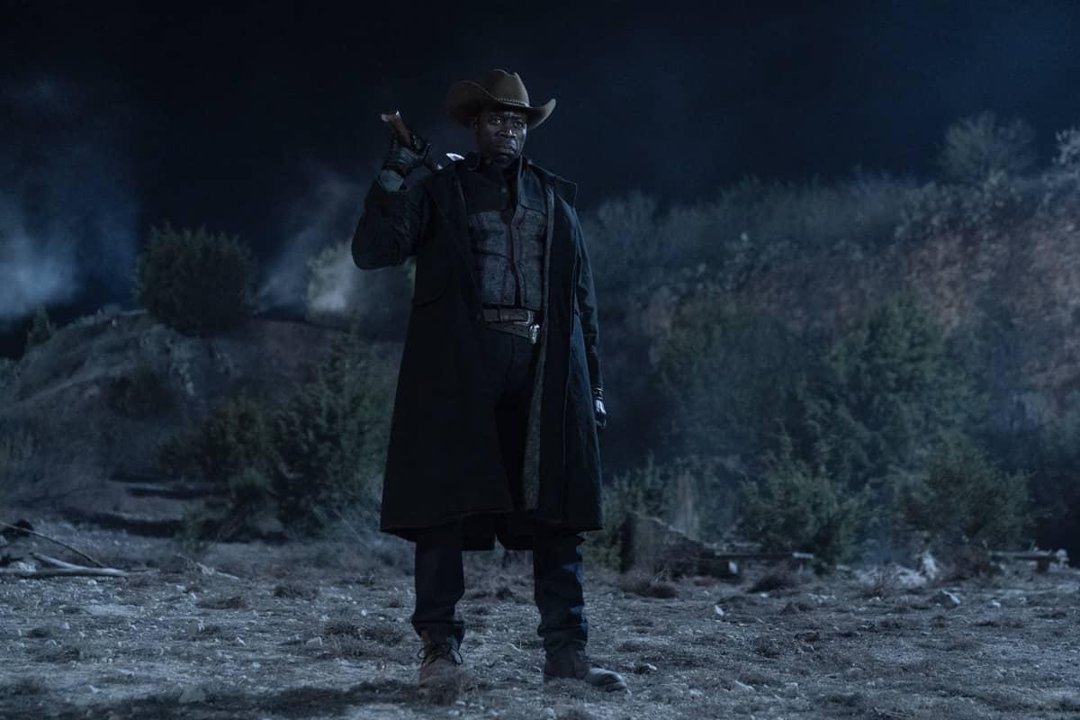 Demetrius Grosse as Emile- Fear the Walking Dead _ Season 6, Episode 1 - Photo Credit: Ryan Green/AMC