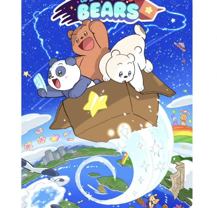 WE BABY BEARS Poster Key Art