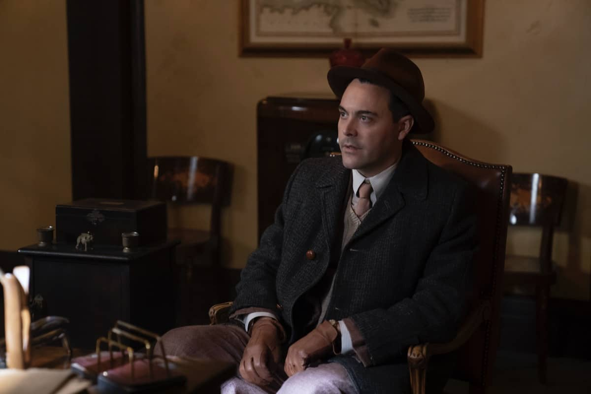 "FARGO -- ""The Pretend War"" - Year 4, Episode 4  (Airs October 11)  Pictured: Jack Huston as Detective Odis Weff. CR: Elizabeth Morris/FX"