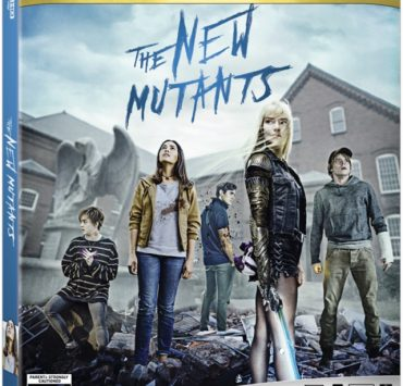 The New Mutants 4k Cover