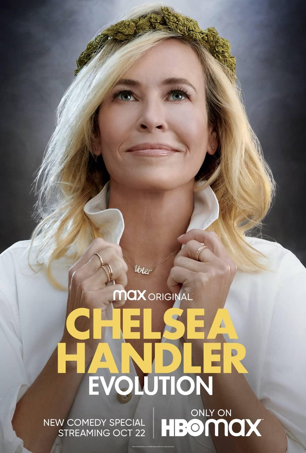 Chelsea Handler Evolution Key Art Poster HBO Max