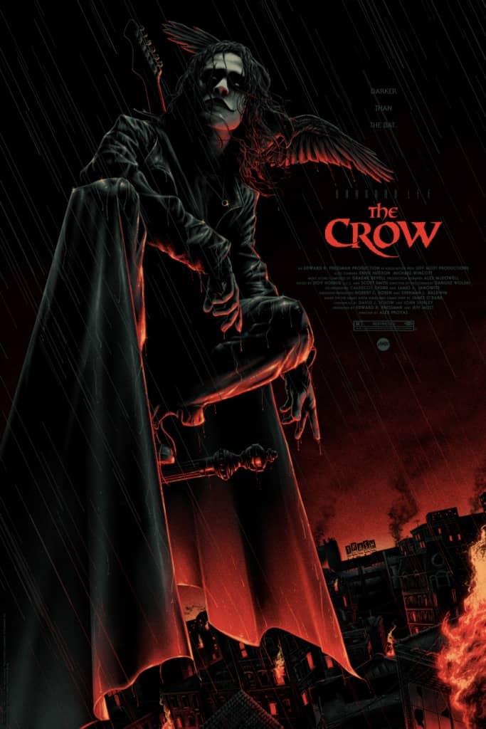 The Crow Mondo Poster