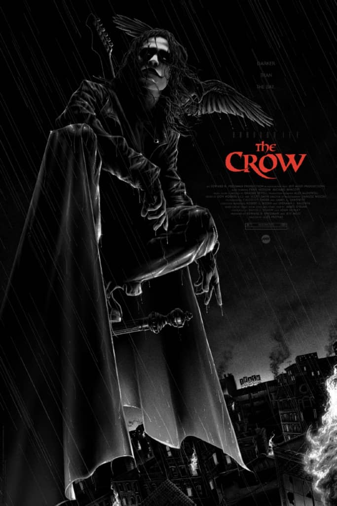 The Crow Mondo Poster Variant