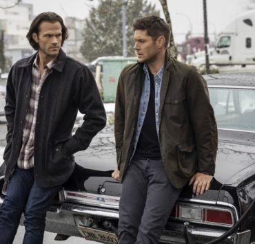 "Supernatural -- ""Gimme Shelter"" -- Image Number: SN1515B_0248r.jpg -- Pictured (L-R): Jared Padalecki as Sam and Jensen Ackles as Dean -- Photo: Colin Bentley/The CW -- © 2020 The CW Network, LLC. All Rights Reserved."