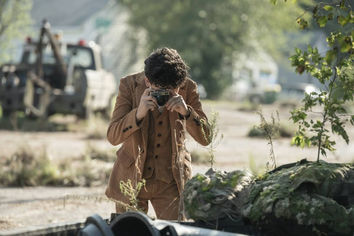 Nicolas Cantu as Elton - The Walking Dead: World Beyond _ Season 1, Episode 2 - Photo Credit: Jojo Whilden/AMC