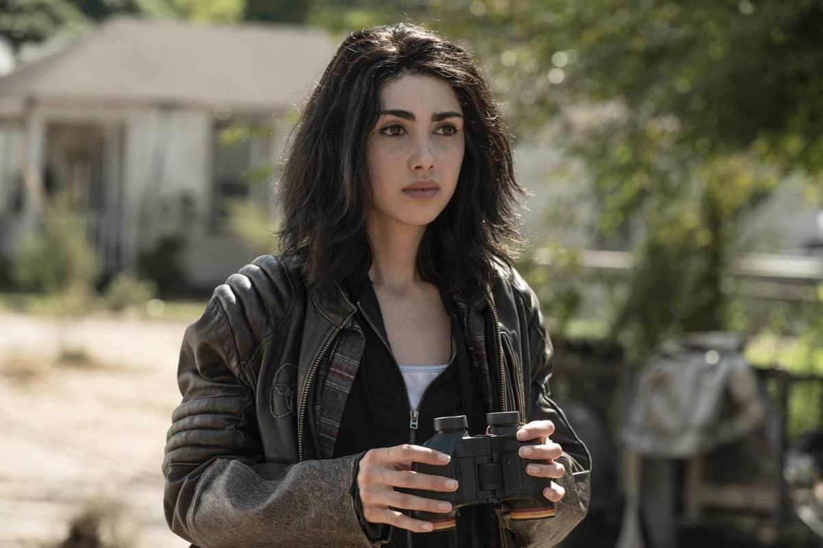 Alexa Mansour as Hope - The Walking Dead: World Beyond _ Season 1, Episode 2 - Photo Credit: Jojo Whilden/AMC