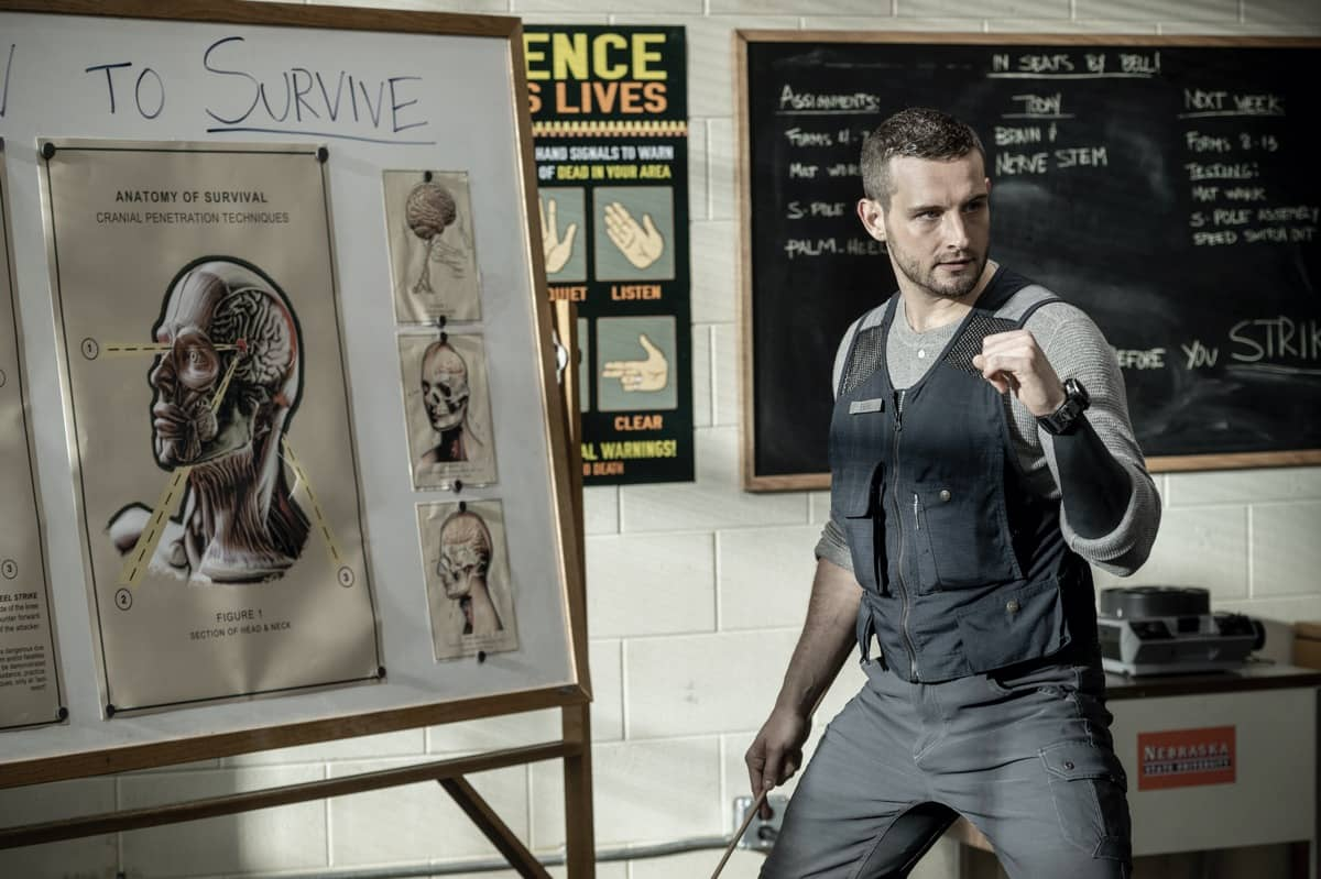 Nico Tortorella as Felix - The Walking Dead: World Beyond _ Season 1, Episode 2 - Photo Credit: Jojo Whilden/AMC
