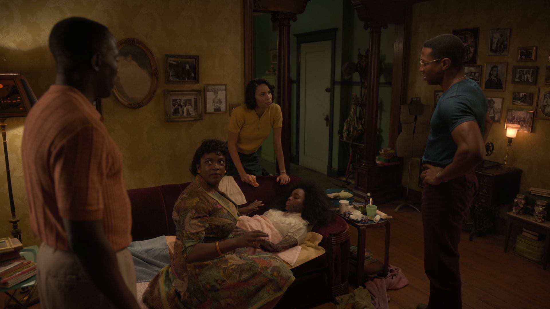 Wunmi Mosaku, Jada Harris, Jurnee Smollett, Jonathan Majors HBO Lovecraft Country Season 1 - Episode 9