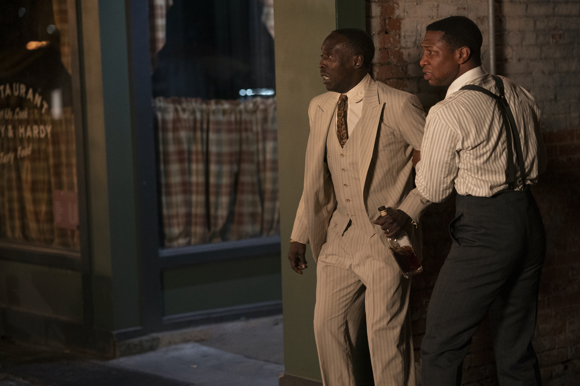 Michael K. Williams, Jonathan Majors  HBO Lovecraft Country Season 1 - Episode 9