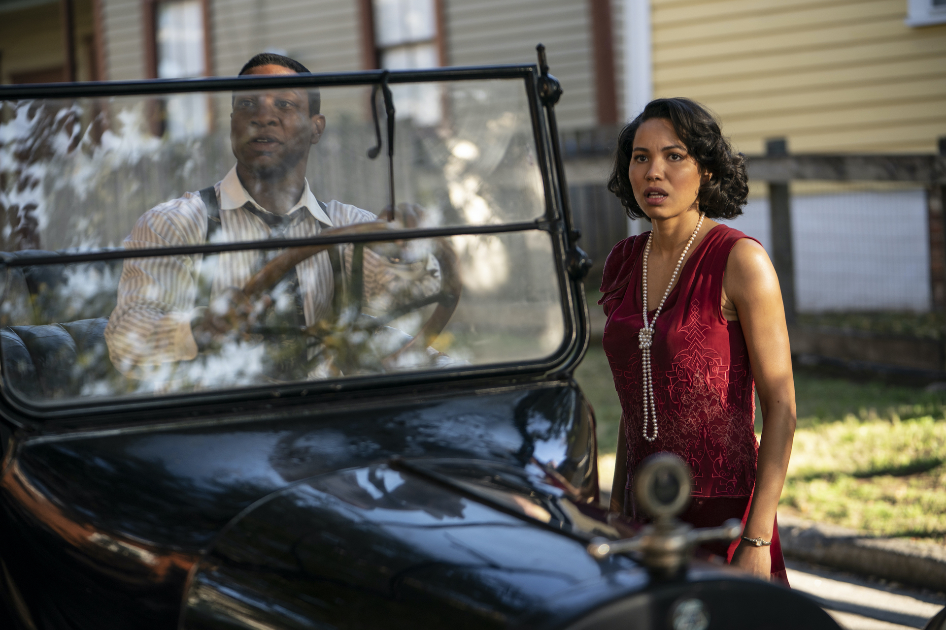 Jonathan Majors, Jurnee Smollett, HBO Lovecraft Country Season 1 - Episode 9