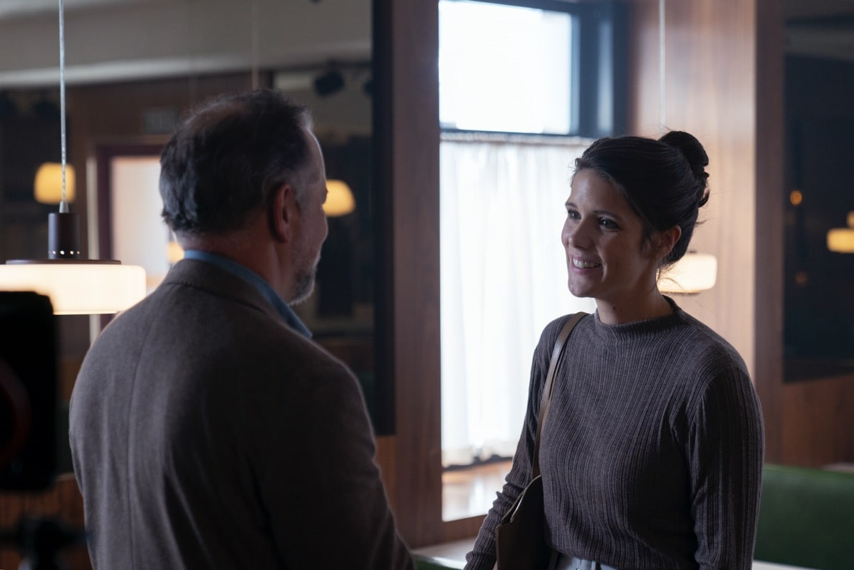 BTS, David Costabile as David, Sonya Cassidy as Alison - Soulmates _ Season 1, Episode 2 - Photo Credit: Jorge Alvarino/AMC