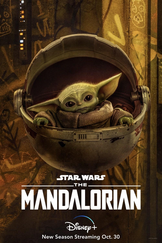 "The Child ""Baby Yoda"" The Mandalorian Season 2 Character Poster"