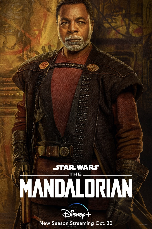 "Carl Weathers ""Greef Karga"" The Mandalorian Season 2 Character Poster"