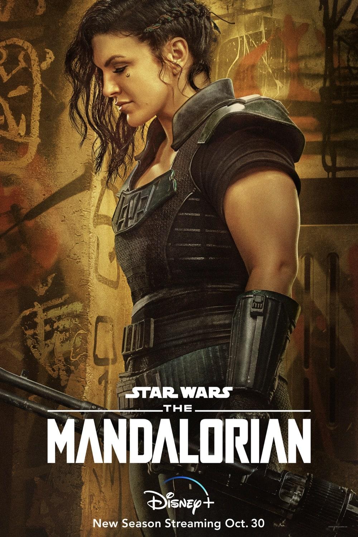 "Gina Carano ""Cara Dune"" The Mandalorian Season 2 Character Poster"