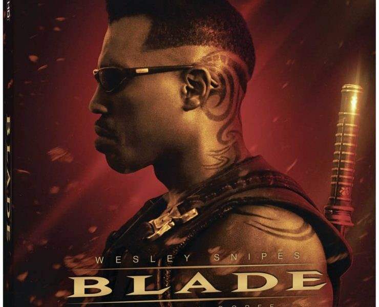 Blade 4K Bluray Cover